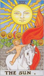 daily tarot card - the sun
