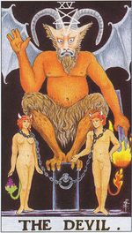 the devil - major arcana